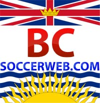 BC Soccer Web - Comprehensive soccer news from British Columbia, Canada Logo