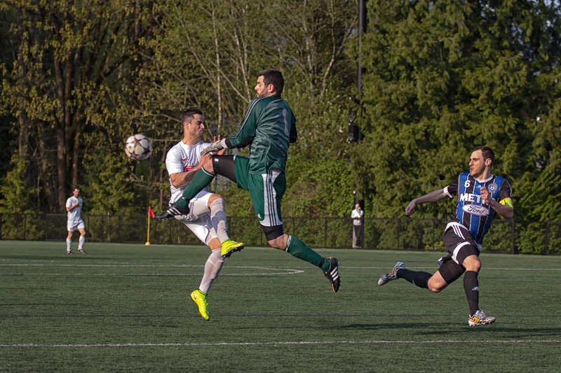 Coquitlam Metro Ford Wolves vs. Inter FC - Provincial Cup April 18, 2015