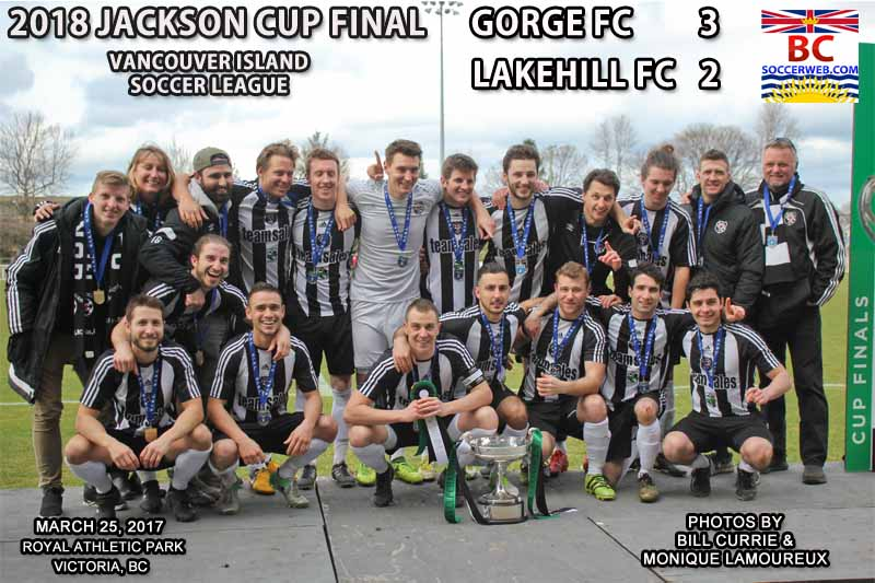 VISL PHOTOS: 2018 JACKSON CUP FINAL, Gorge FC 3, Lakehill FC 2, March 25, 2018