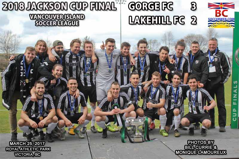 VISL PHOTOS: 2018 JACKSON CUP FINAL, Gorge FC 3, Lakehill FC 2, March 25, 2018