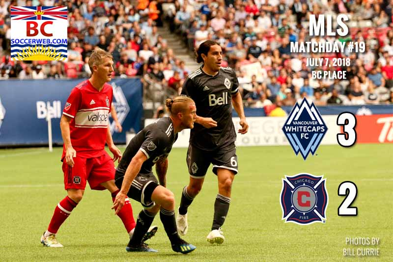MLS PHOTOS: Vancouver Whitecaps 3, Chicago Fire 2, 2018