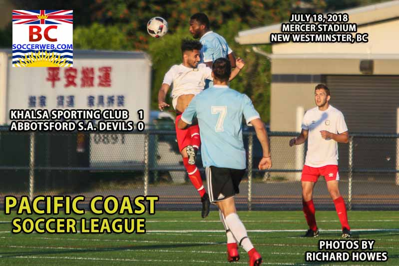 PCSL PHOTOS: Khalsa SC 1, A.S.A. Devils 0, July 18, 2018