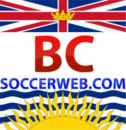 BC Soccer Web - The Hub for soccer news from British Columbia, Canada Logo
